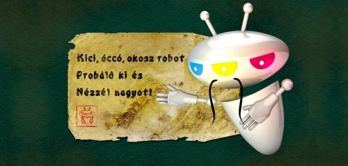 Kici, óccó, okos robot. Próbáld ki és nézzél nagyot!