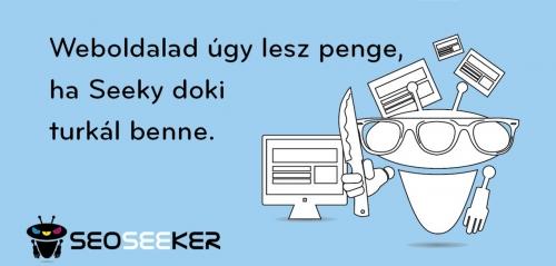 Weboldalad úgy lesz penge, ha Seeky doki turkál benne.