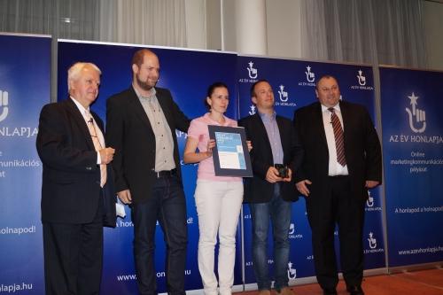 A Évhonlapja 2014 díjátadó rendezvény képei.
