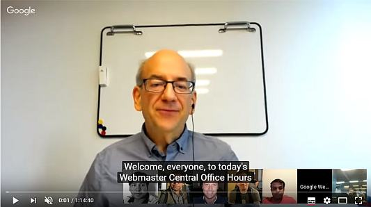 2017.10.06. John Mueller Google Webmaster Central office-hours hangout